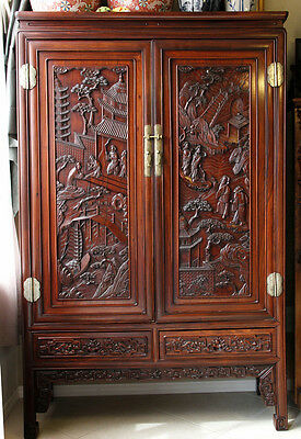 Huanghuali cabinet from Ming dynasty