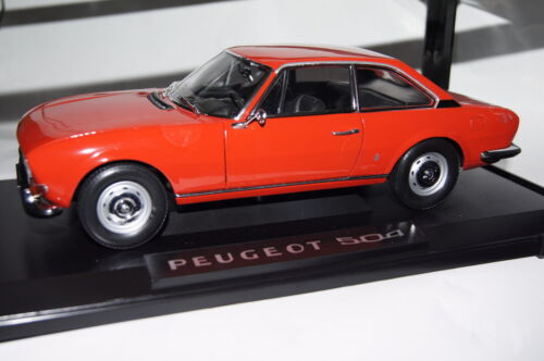 Peugeot 504 Coupe 1971 rojo 1:18 norev nuevo /& OVP 184776