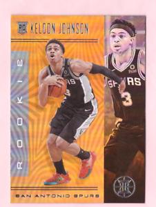 2019-20-Panini-Illusions-KELDON-JOHNSON-Bronze-Parallel-Rookie-SA-Spurs-Mint