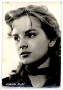 ANTONELLA-LUALDI-Cinema-Star-Attrice-1960-ITALY-Real-Photo-PC-Vera-foto