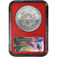 S 2017 $1 American Silver Eagle NGC MS70 Black ER Label Red Core