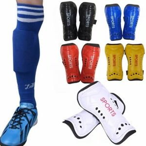 Sport-Football-Leg-Support-Shin-Guards-Soccer-Shinguard-Protection-Shin-Pads-NG