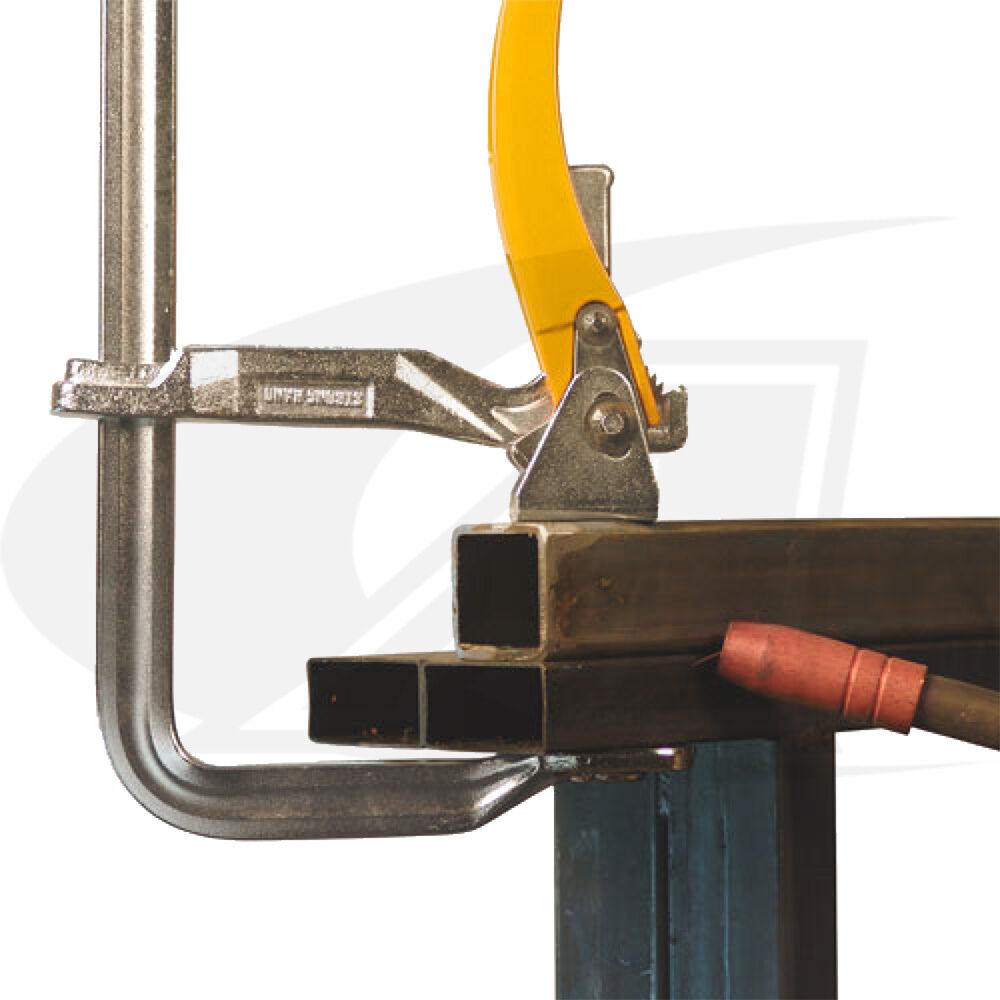 "Ratchet Action Heavy Duty Utility Clamp with 8-1//2/"" Clamping Capacity"