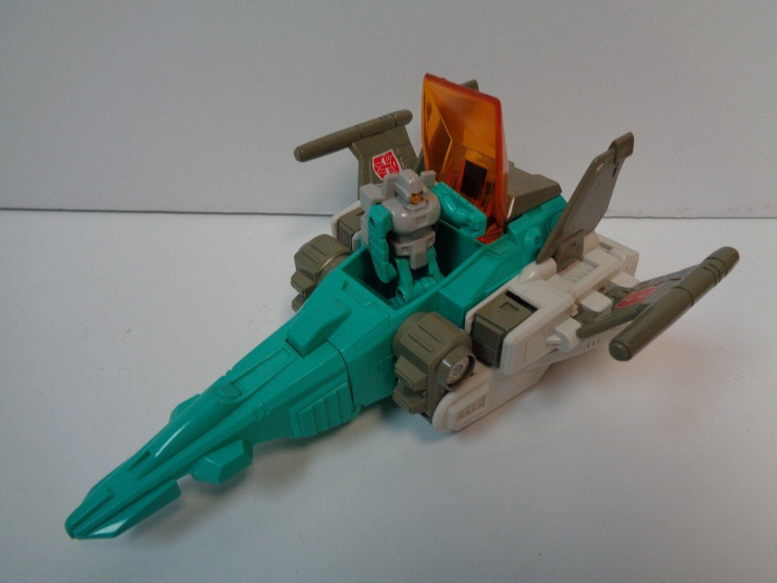 Transformers BRAINSTORM Headmasters G1 - Figure with Cana - 1987 Takara