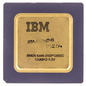 IBM 6X86-2V2P120GC 100MHZ SOCKET 7 50MHZ