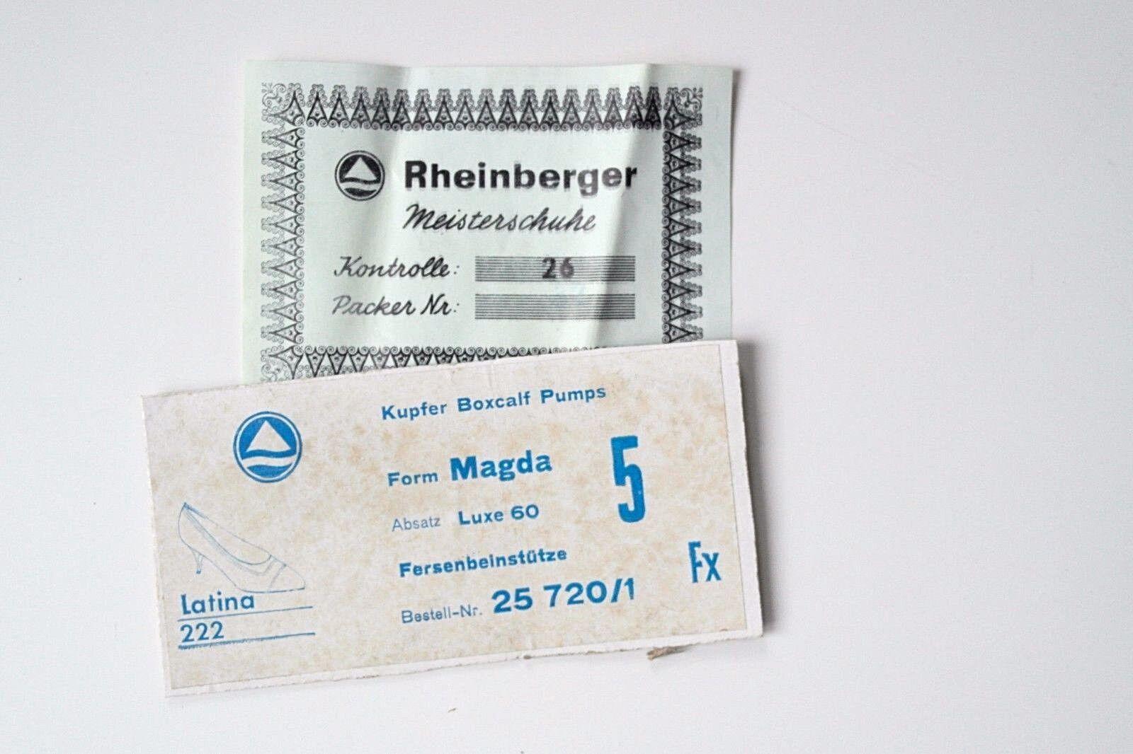 TRUE VINTAGE Damen Pumps Schuhe Rheinberger Madame Latina NOS Schuhe Pumps Halbschuhe EUR 38 bf3d4a