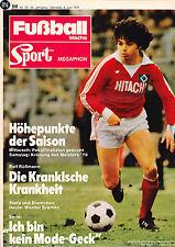 Fußball Woche 23/1979,Bundesliga,Rolf Rüßmann,Werder Bremen,Erich Ribbeck,