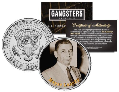 Gangster Series Coin MEYER LANSKY JFK Kennedy Half Dollar U.S