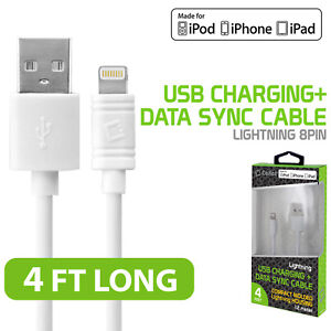 Apple Cert Retractable Lightning USB Data Charger Cable for iPad Pro iPad Air 2