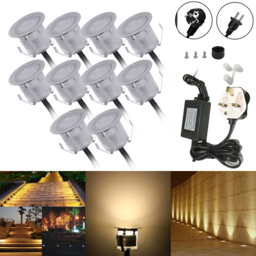 10PCS 32mm LED Deck Lights 6W 500LM SMD2835 Small Recessed In-ground R8T4