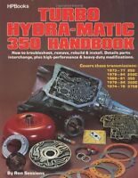Turbo Hydra-matic 350 Handbook By Ron Sessions, (paperback), Hp Books , New, Fre on sale