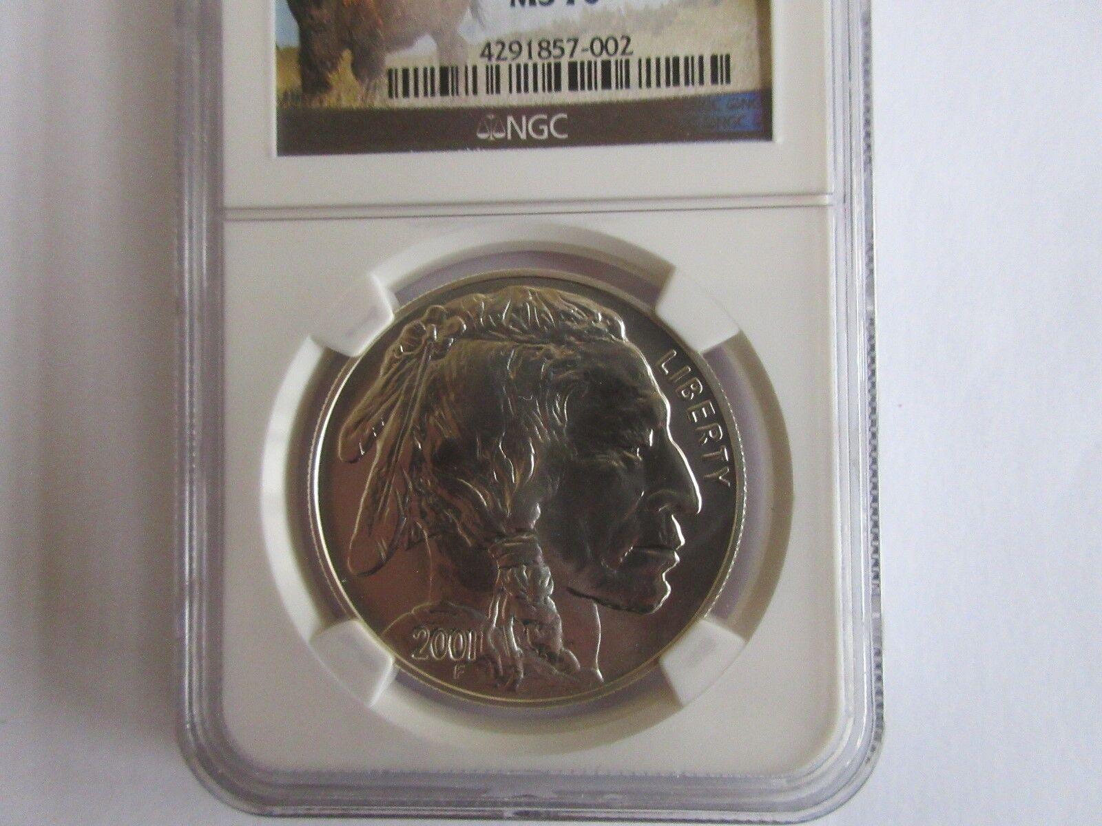 2001-D , American Buffalo , NGC , MS 70