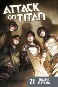 Attack-on-Titan-21-Paperback-by-Isayama-Hajime-Brand-New-Free-shipping-in