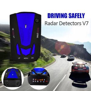 360-Degree-Car-16-Band-V7-GPS-Speed-Safety-Radar-Detector-Voice-Alert-Laser-LED