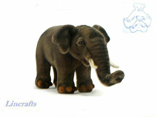 Hansa Asian Elephant 3482 Plush Soft Toy Sold by Lincrafts Established 1993