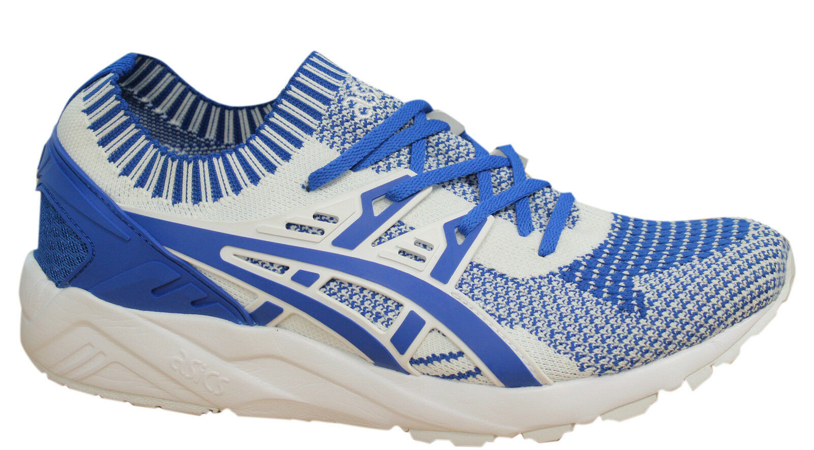 Asics Gel-Kayano Trainers Knit Homme Chaussures Textile Bleu Blanc H7S4N 4545 P2
