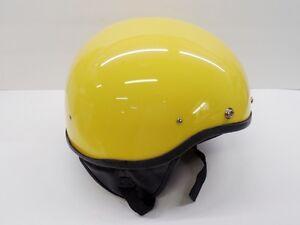 Image Is Loading Nos Vintage Half Helmet Medium Bowl Flat Board