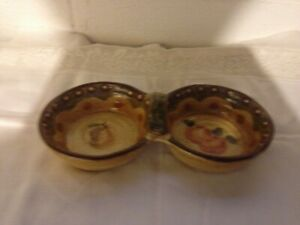Details About Park Design Goldsboro Nc Terrazza Collection Relish Condiment Stoneware Dish