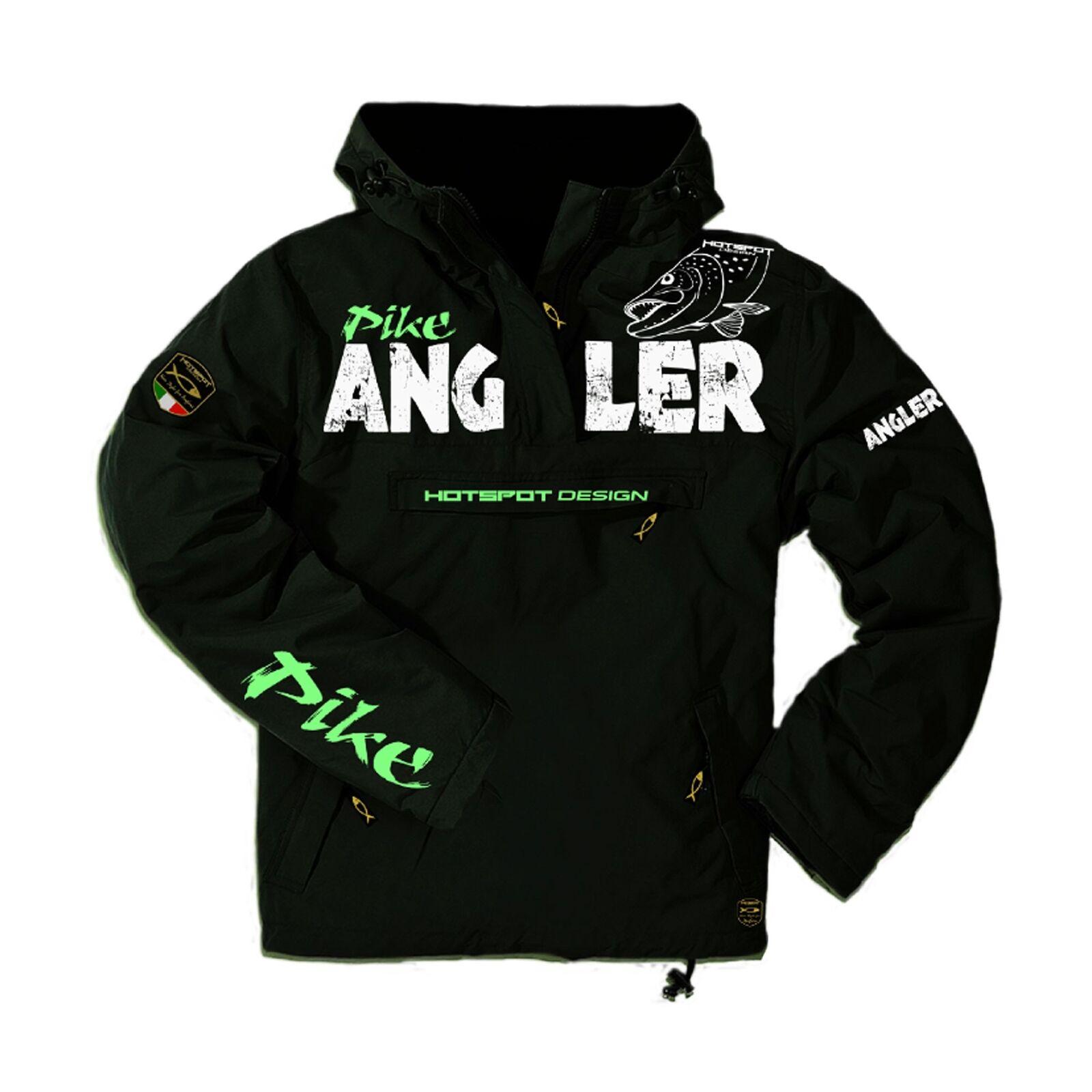 Angel chaqueta Pike Hoodie Angler suéter Hecht projoador hotspot Design