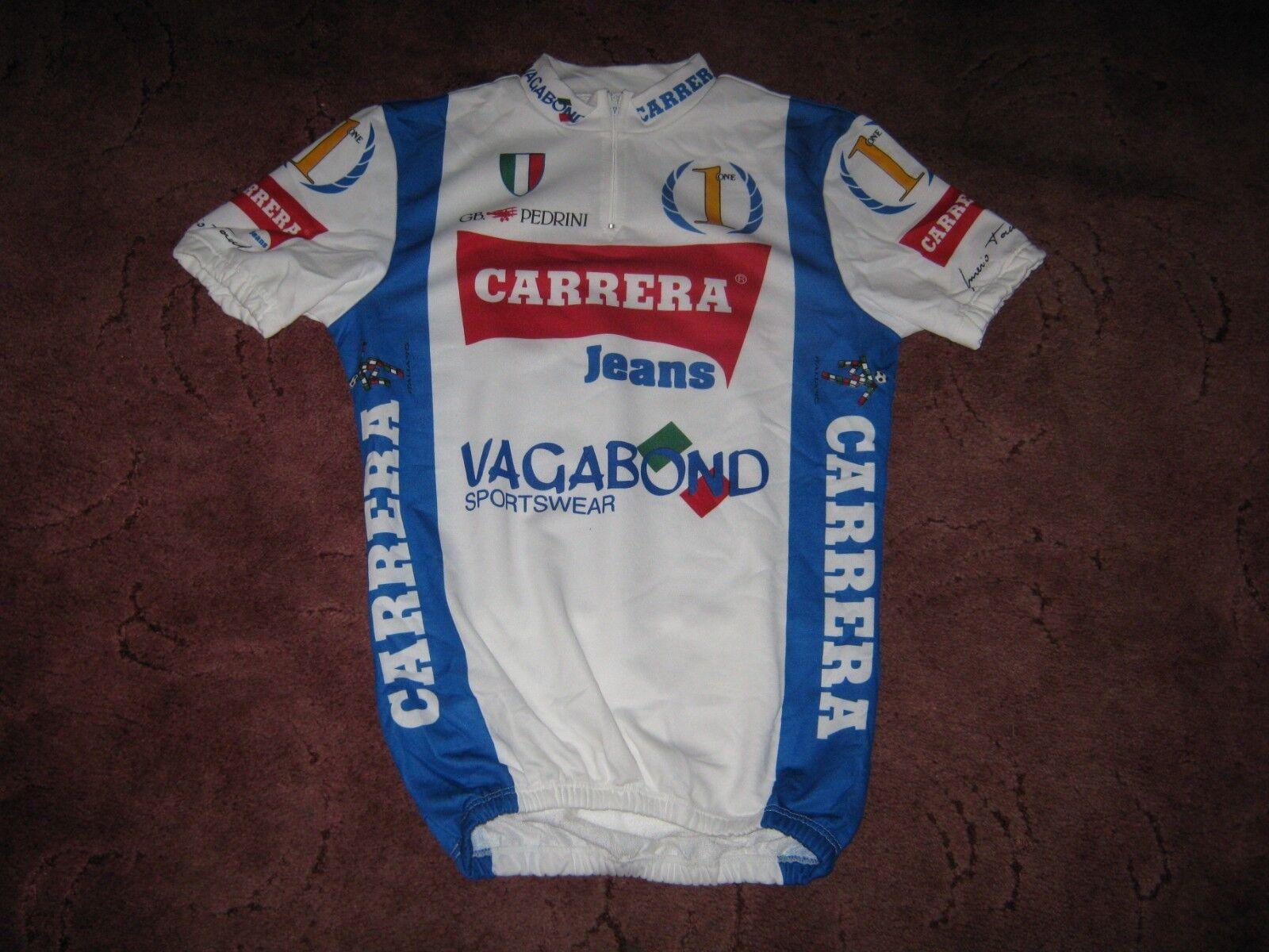 CARRERA VAGABOND 1990 NALINI Italiano Ciclismo Jersey nn. [XL] nn. Jersey d97c8f