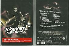 TOKIO HOTEL : ZIMMER 483 - CONCERT LIVE EN EUROPE ( 2 DVD ) / COMME NEUF