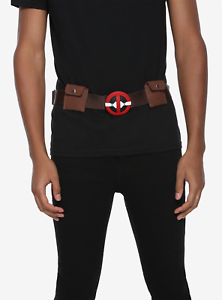 """Deadpool Marvel Utility Belt 24/""""-38/"""" Brand NEW with tags"""
