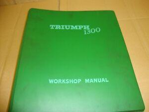 TRIUMPH-1300-WORKSHOP-MANUAL-1969-3rd-ISSUE