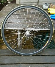 Mavic Open Pro CD front wheel 36 hole rim Shimano 105 hub unused Eroica rebuild