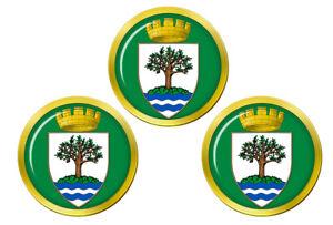 Worcestershire-Angleterre-Marqueurs-de-Balles-de-Golf
