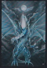 (60)YuGiOh Small size Blue-Eyes White Dragon Card Sleeves 60 Pcs 63x90 mm
