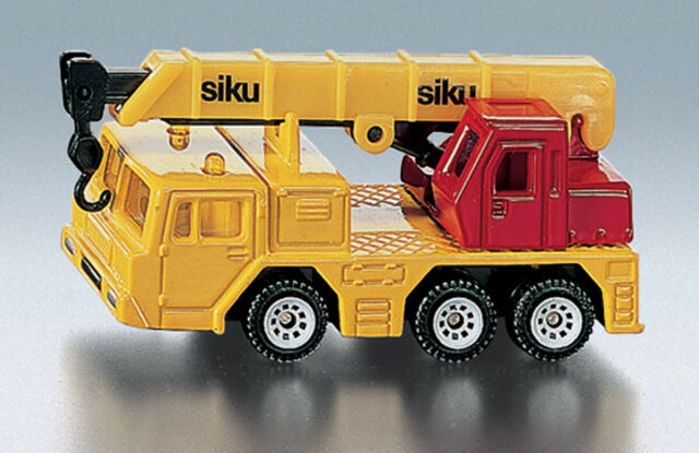 SIKU 1326 HYDRAULIC CRANE COLLECTABLE DIECAST VEHICLE REPLICA MODEL TOY FOR KIDS