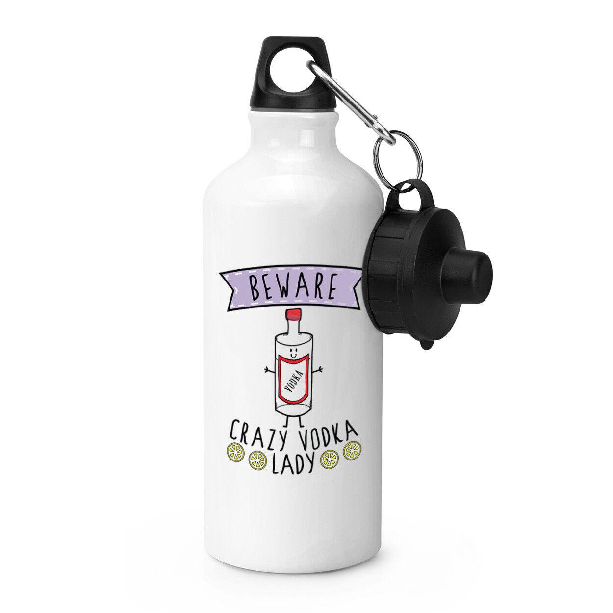 Méfiez-vous fou Blague vodka Lady Sports Boisson Bouteille Camping fiole-Drôle Blague fou ivre 46733f