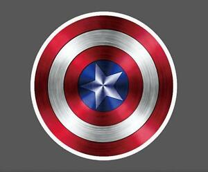 Captain-America-Vinyl-Sticker-Snowboard-Luggage-Car-Laptop-Phone-7x7cm-Z0037