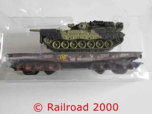 NEU+OVP aus 48795 Schwerlast-Flachwagen Slmmps mit Panzer Märklin