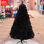 UPS-3-Days-3-4-5-6-7-8-ft-Black-Artificial-Christmas-Tree-Indoor-Home-Decoration thumbnail 16