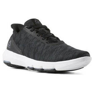 Details about Reebok CN6085 Men Cloud Ride DMX 4.0 Walking Shoes black white grey sneakers