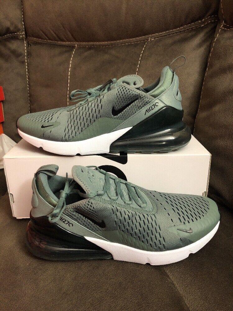 quality design 6ca60 545ef Nike Air Max 270 Clay Green Size 10 Black Deep Jungle Ah8050 300
