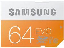 Samsung 64GB Class 10 EVO SDXC UHS-I Grade 1 Memory Card (Frustration Free Packa
