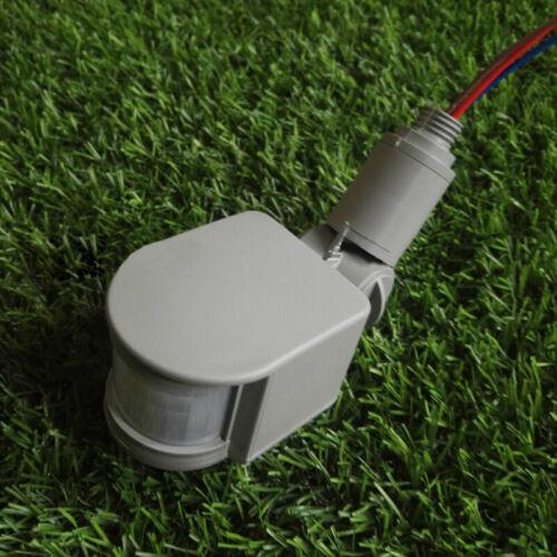 RF 180° 12M Außenbereich LED Sicherheit PIR Infrarot Bewegungsmelder Detektor