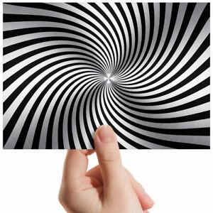 Spiral-Illusion-Hypnotic-Small-Photograph-6-034-x-4-034-Art-Print-Photo-Gift-3794