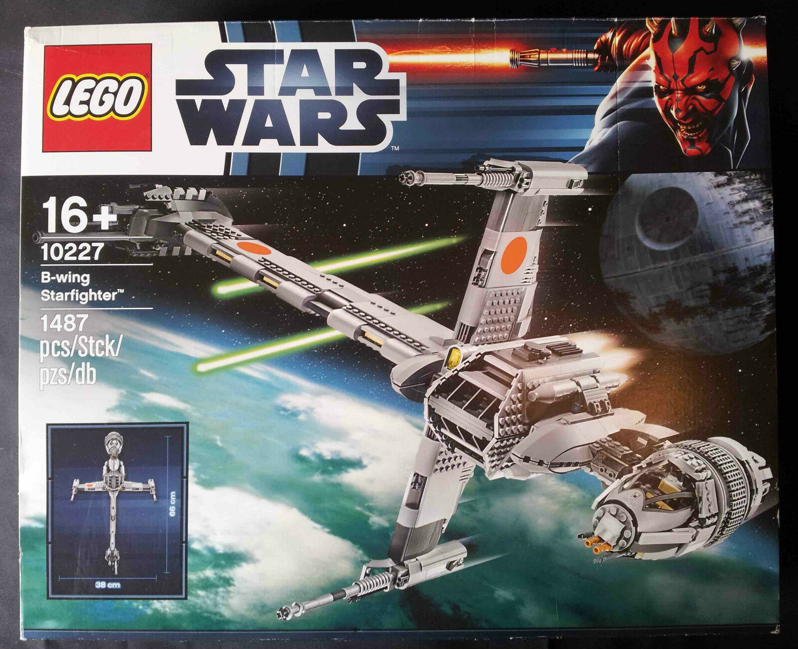 LEGO STAR WARS 10227 - B-WING (UCS) NEW SEALED   NEW SEALED