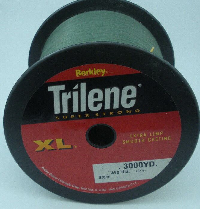 Berkley  1002482 XL3010-22 10 Lb Trilene XL Mono Line 3000 Yd LowVis Green 10647  to provide you with a pleasant online shopping