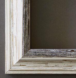 bilderrahmen weiss shabby beige schwarz rahmen holz modernbari 42 0 ohne glas ebay. Black Bedroom Furniture Sets. Home Design Ideas