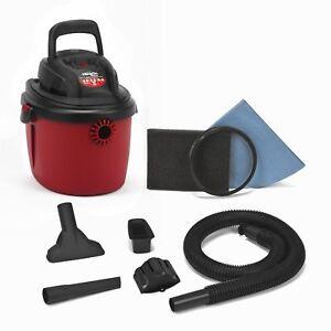 Shop-Vac-2036000-2-5-Gallon-2-5-Peak-HP-Wet-Dry-Shopvac-Vacuum-Red-Black-NEW