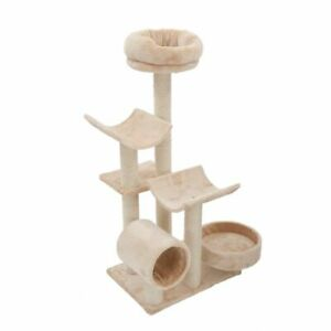 Cat-Tree-For-Kittens-Larger-Or-Older-Cats-Den-Scratching-Post