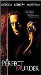 A Perfect Murder (VHS, 1999, Collectors Edition)