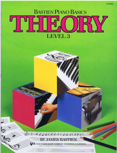 Bastien Piano Basics Theory Level 3