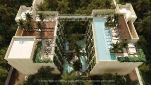 Estudios Amueblados en Venta en Playa del Carmen