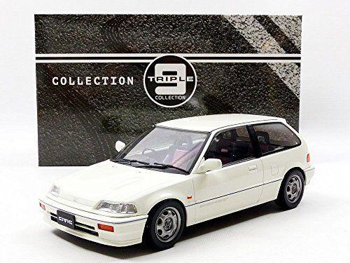 Honda Civic Ef-3 Si 1987 blanc 1 18 Model TRIPLE 9