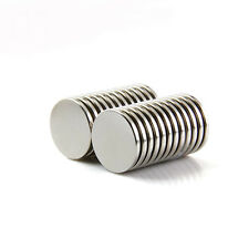 Lots 10pcs Super Strong 20x2mm Roud Disc Rare Earth Neodymium Powerful Magnets